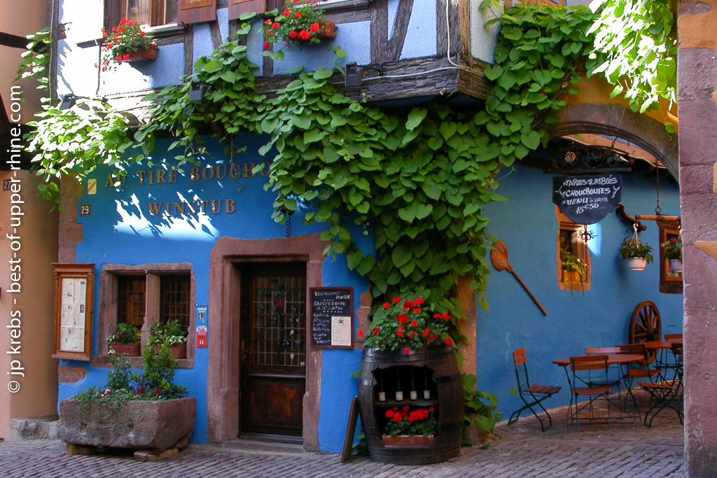 Restaurant winstub Tire-Bouchon à Riquewihr